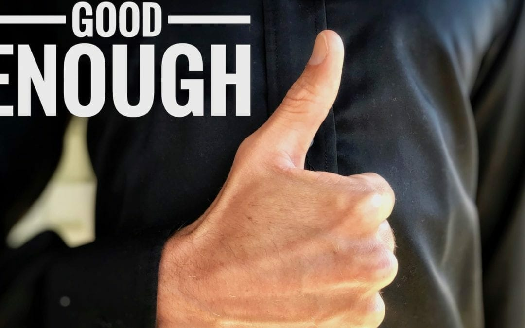 Learning To Say Good Enough: Overcoming Perfectionism as an EntrepreNurse
